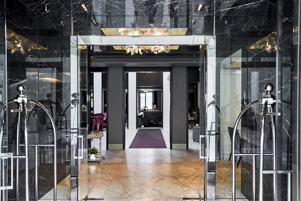 Queen Victoria Hotel Eingang