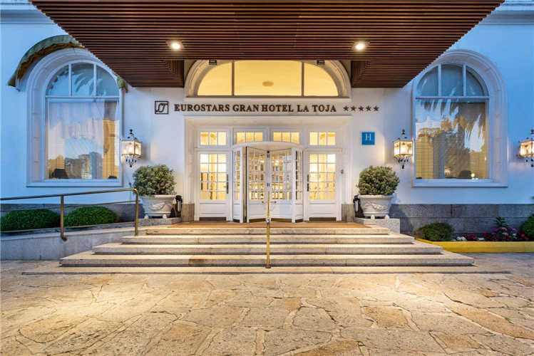 Eurostars Gran Hotel La Toja Eingang