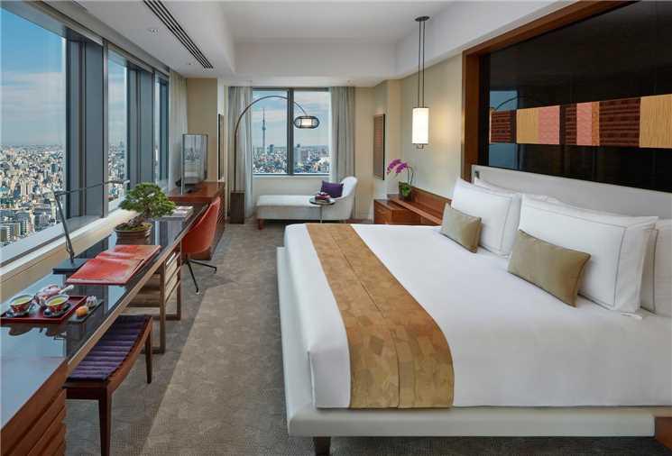 Mandarin Oriental Tokyo Zimmer