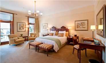 Otahuna Lodge Zimmer