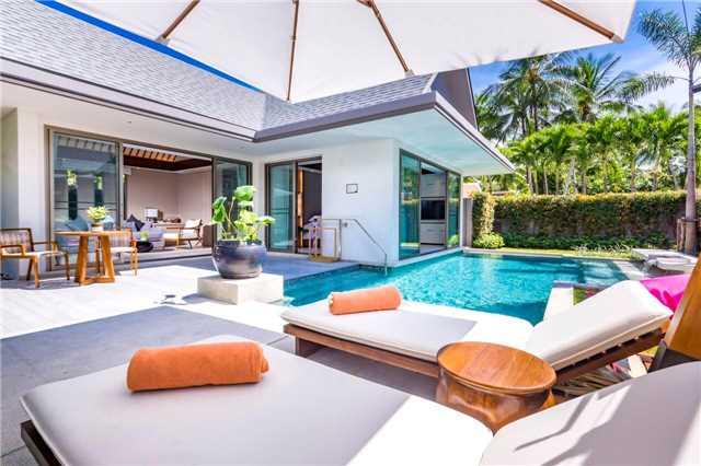Santiburi Koh Samui Terrasse mit Pool