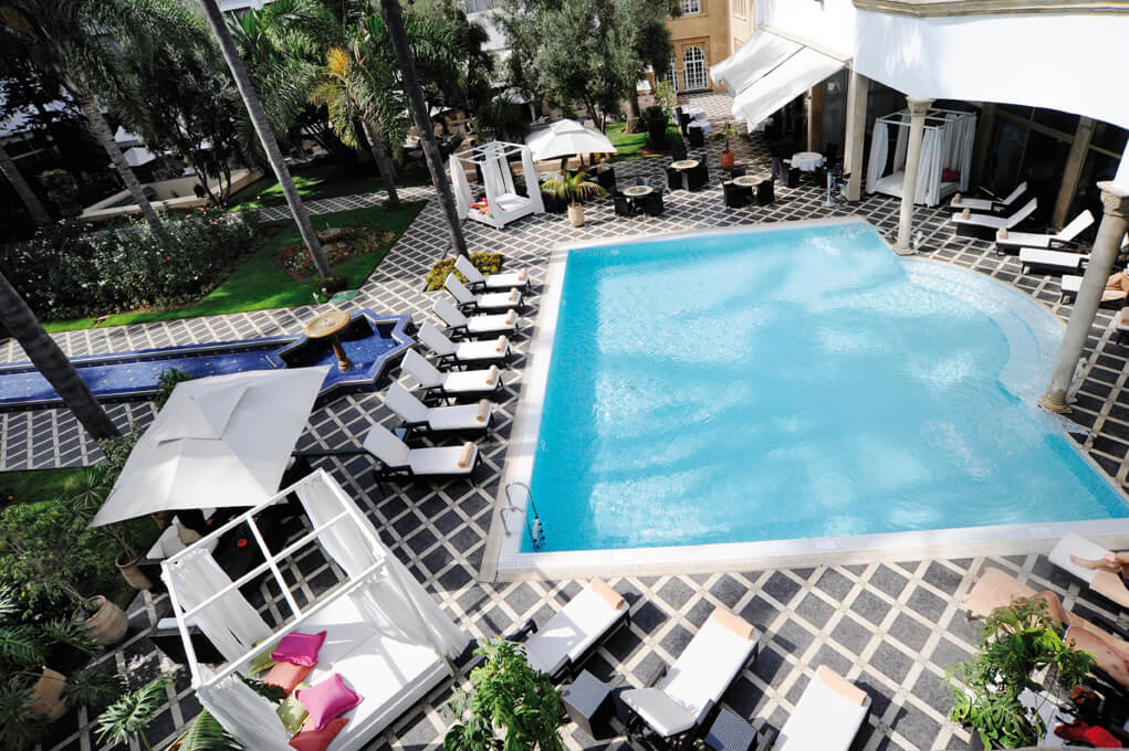 La Tour Hassan Pool