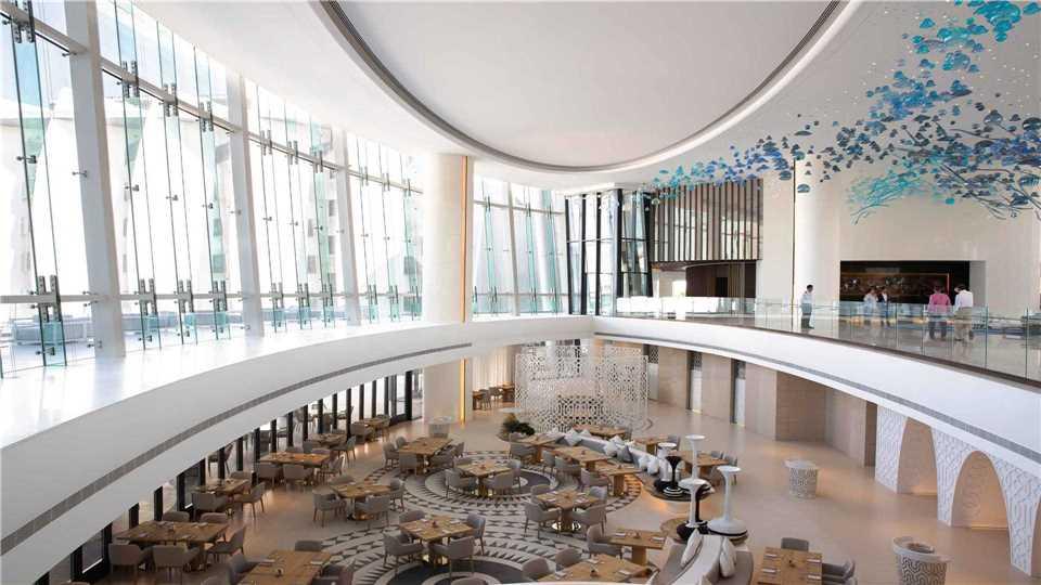 Jumeirah Saadiyat Empfangsbereich