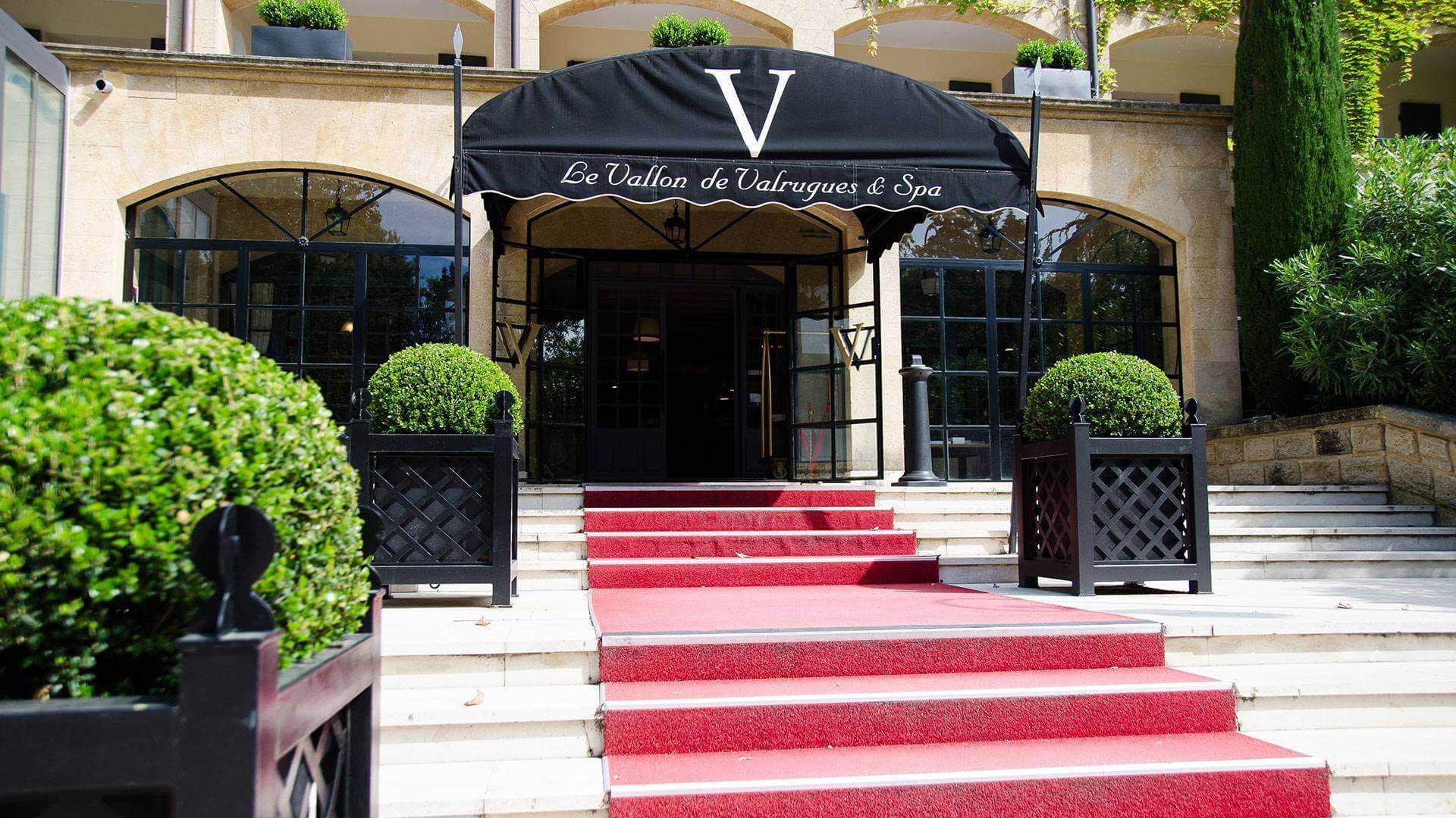 Le Vallon de Valrugues & Spa Eingang