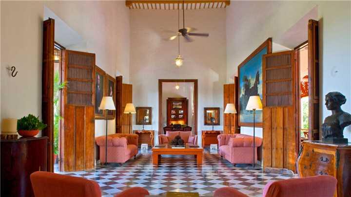 Hacienda Temozón Lobby