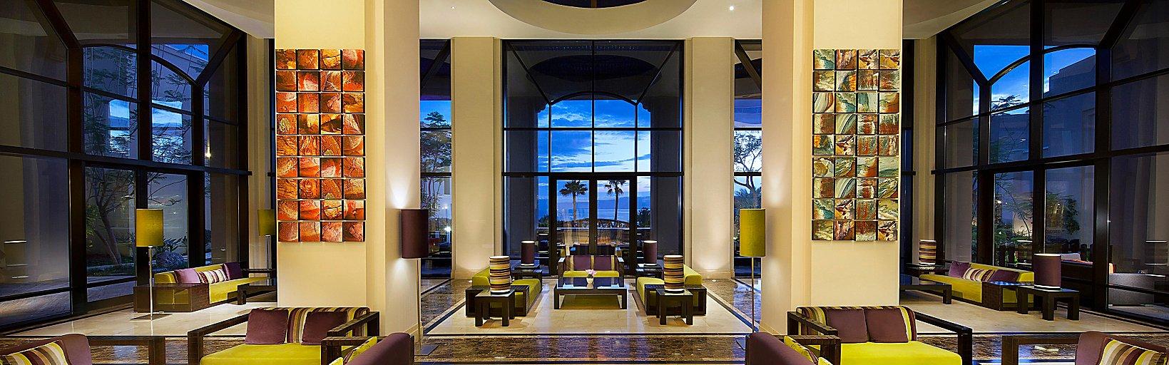 Holiday Inn Resort Dead Sea Lobby