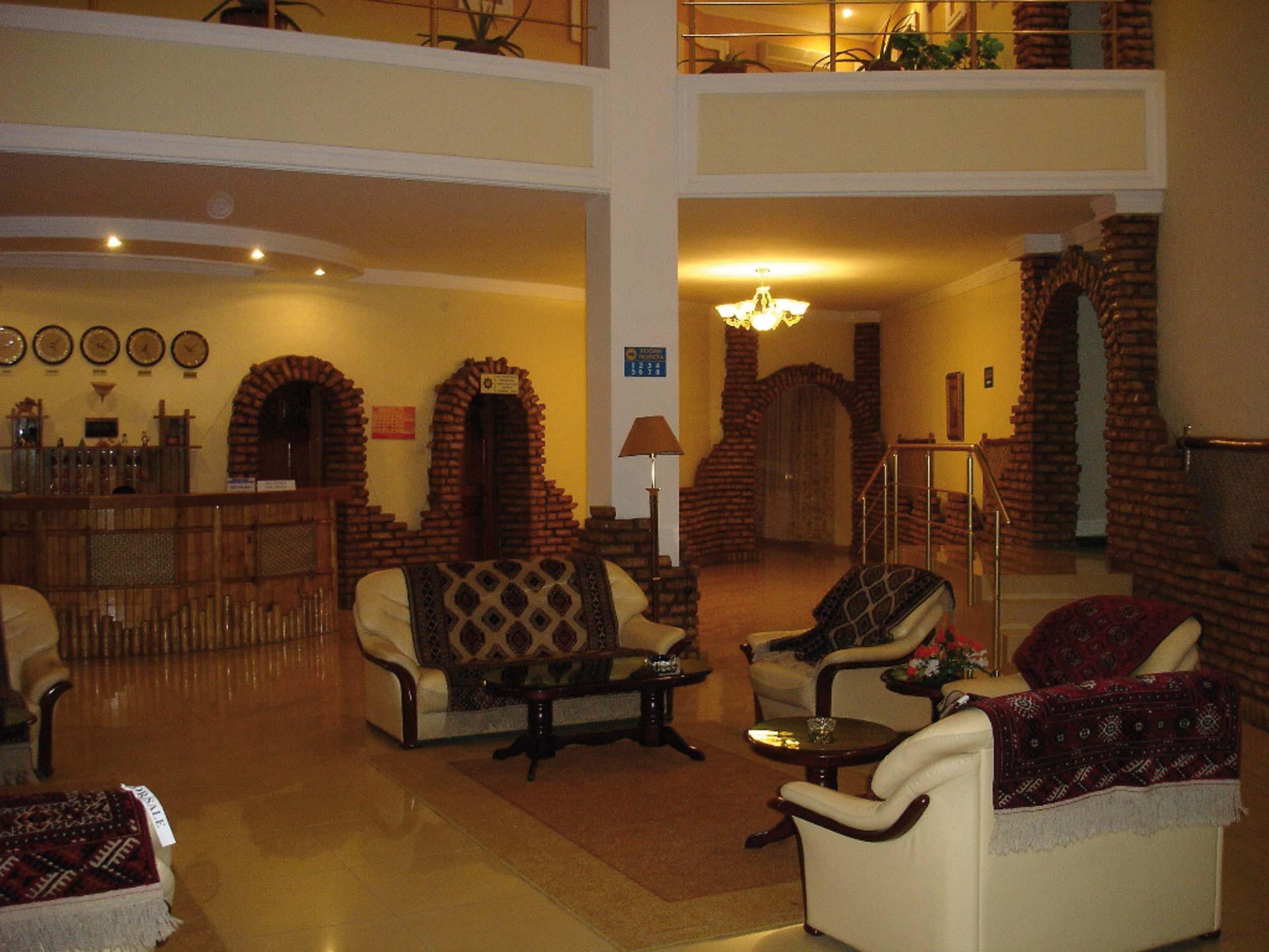 Asia Khiva Lobby