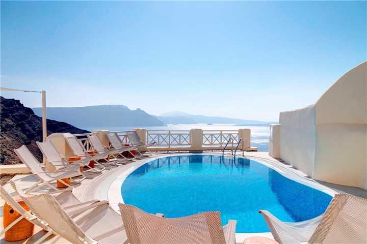 Hotel Mystique Santorini Pool