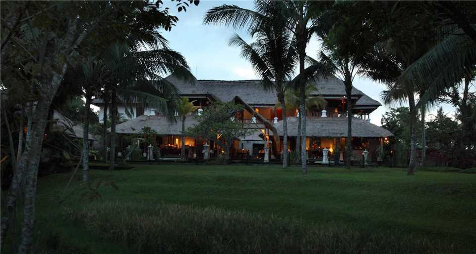 The Ubud Village Resort & Spa Außenansicht