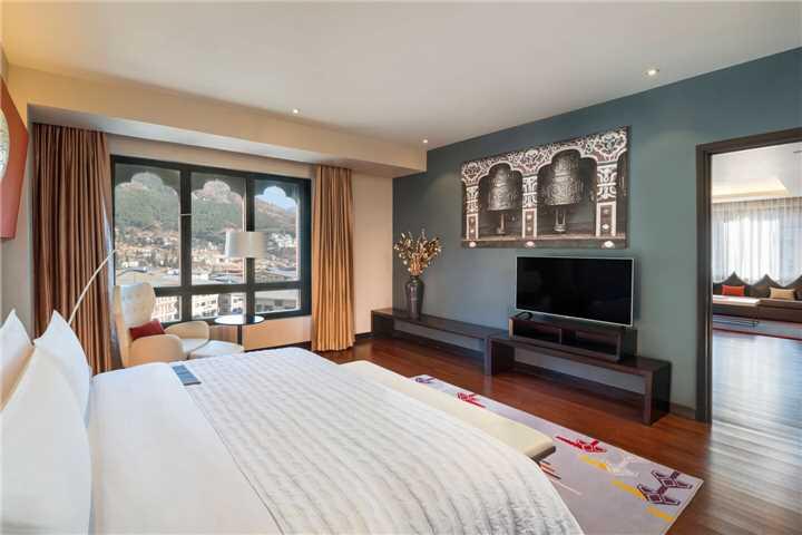 Le Méridien Thimphu Doppelzimmer