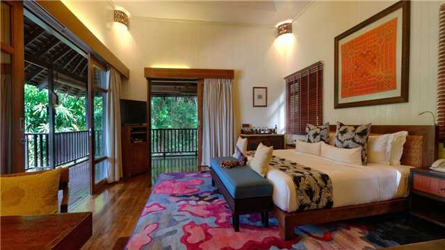 Bungaraya Island Resort Zimmer