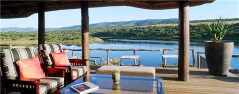 Msenge Bush Lodge Aussicht