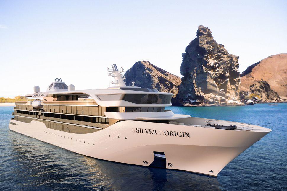 Silver Seas Cruises Silver Origin Aussenansicht
