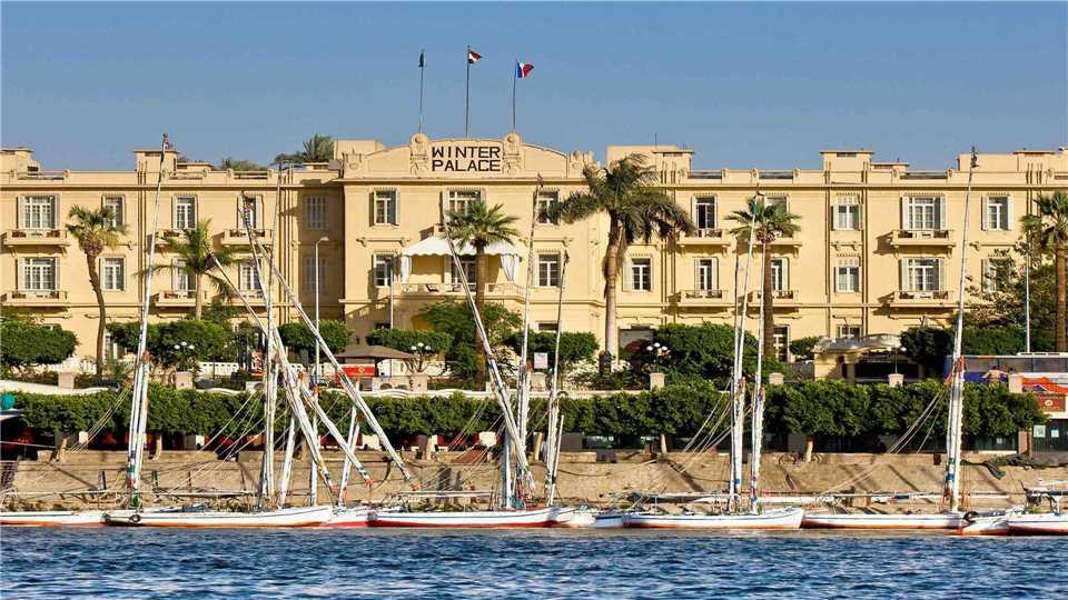Sofitel Luxor Winter Palace Außenansicht
