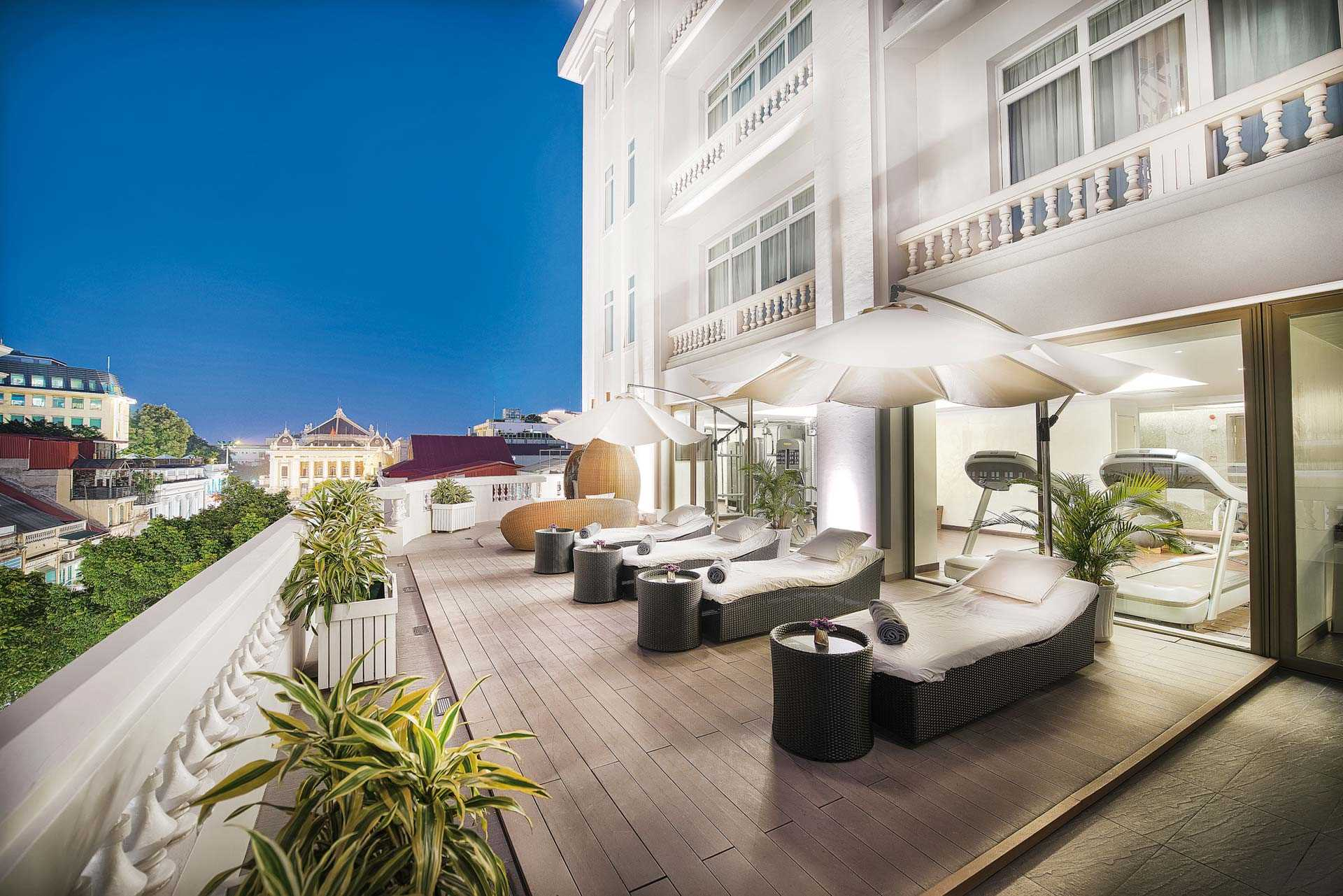 Hotel de lOpera Hanoi - MGallery Terrasse