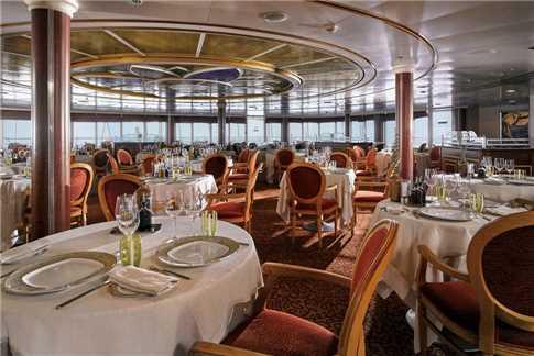 Silver Seas Cruises Silver Whisper Restaurant