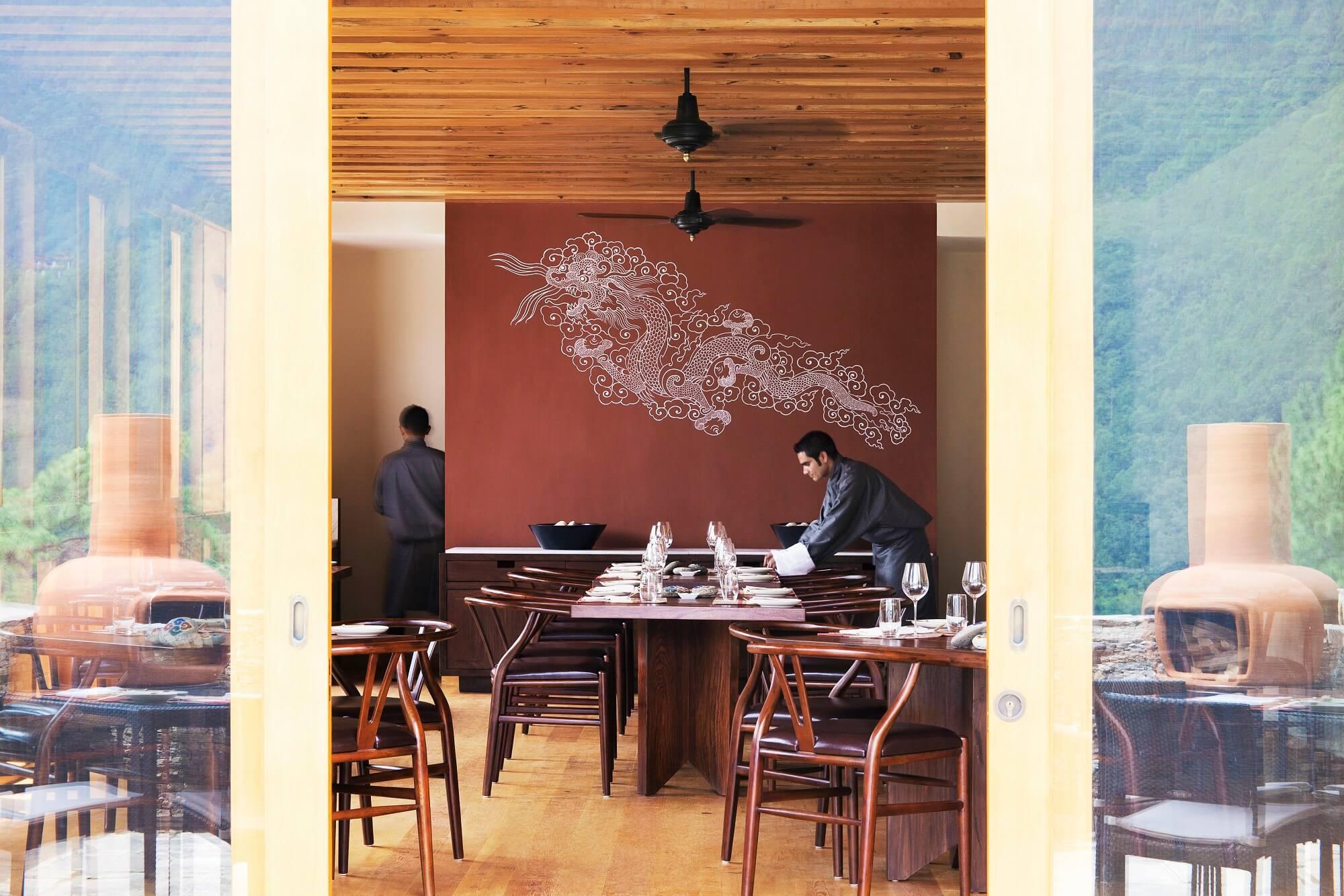 Como Uma Punakha Restaurant