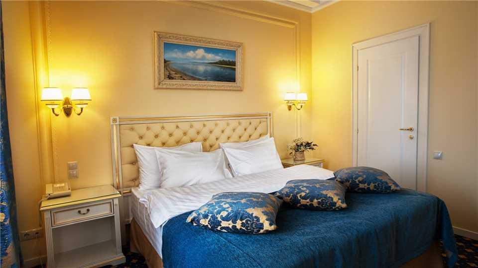 Hotel Wolgograd Doppelzimmer