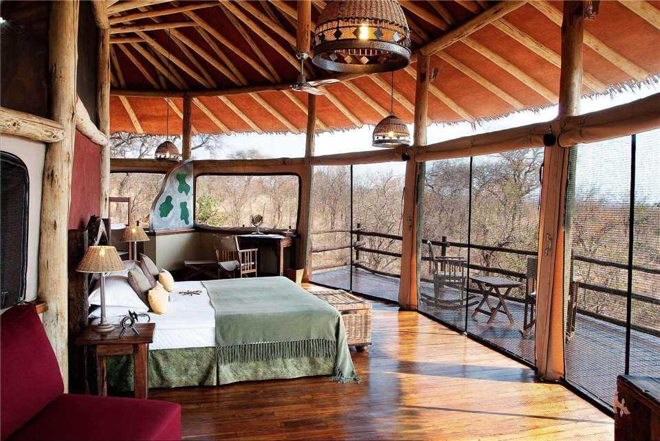 Tarangire Treetops Doppelzimmer