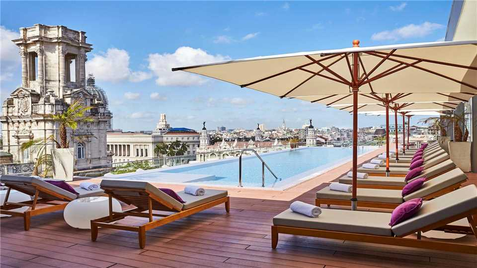 Gran Hotel Manzana Kempinzki la Habana Pool