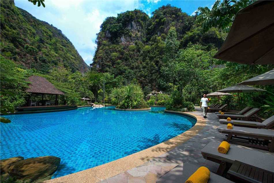 The Banjaran Hotsprings Retreat Pool