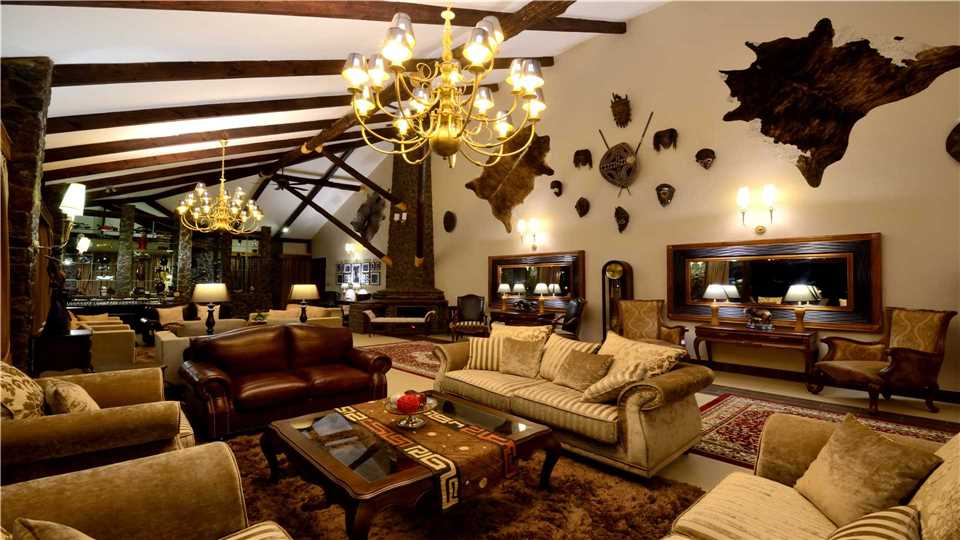 Ngorongoro Oldeani Mountain Lodge Lounge