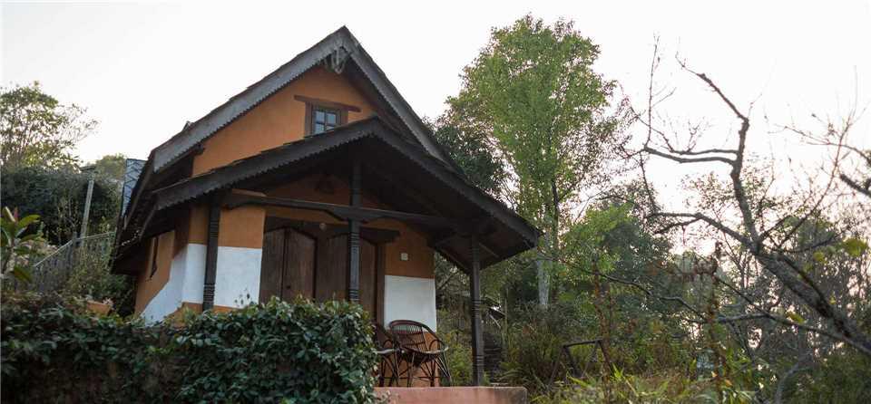 Namo Buddha Resort Cottage Aussenansicht