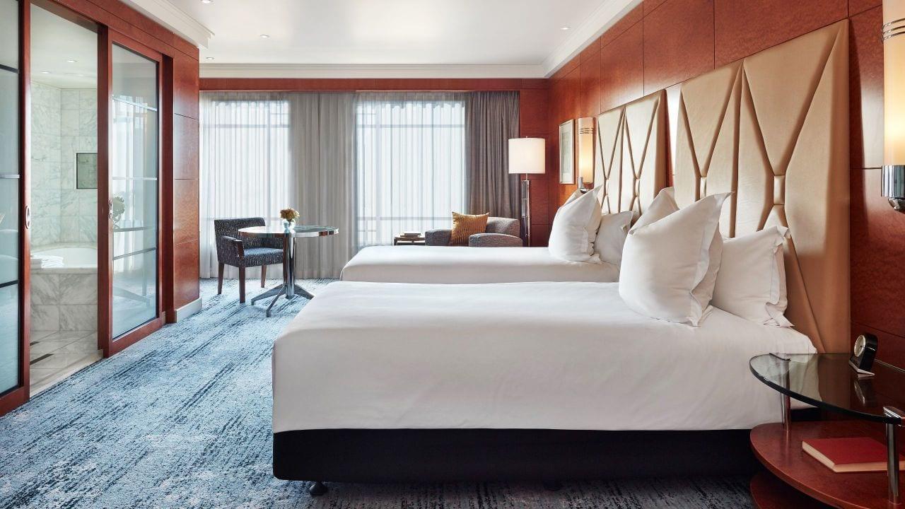 Park Hyatt Melbourne Two Twin Guestroom
