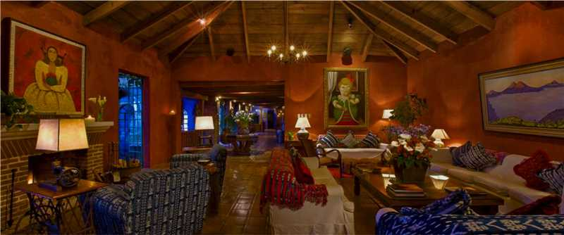 Boutique Hotel Casa Palopó Lobby