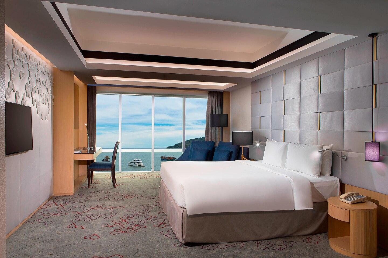 Le Meridien Kota Kinabalu Zimmer