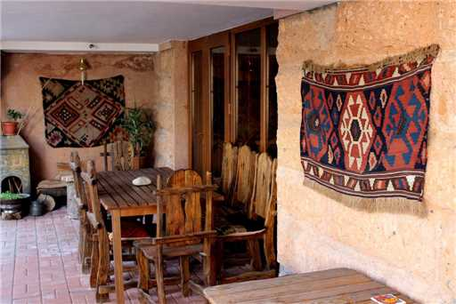 Silk Road Hotel Terrasse
