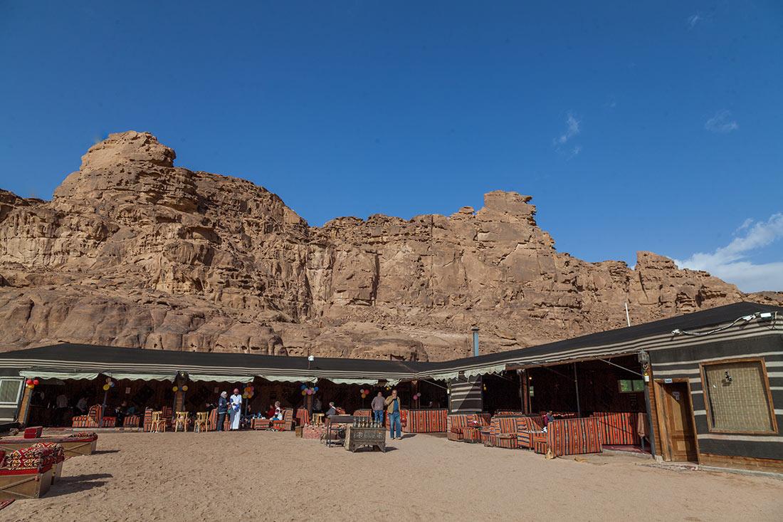 Sun City Camp im Wadi Rum Dining Area