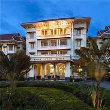 Raffles Hotel Le Royal Außenansicht