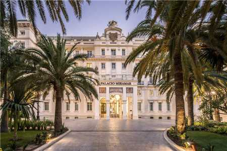 Gran Hotel Miramar Hotelansicht