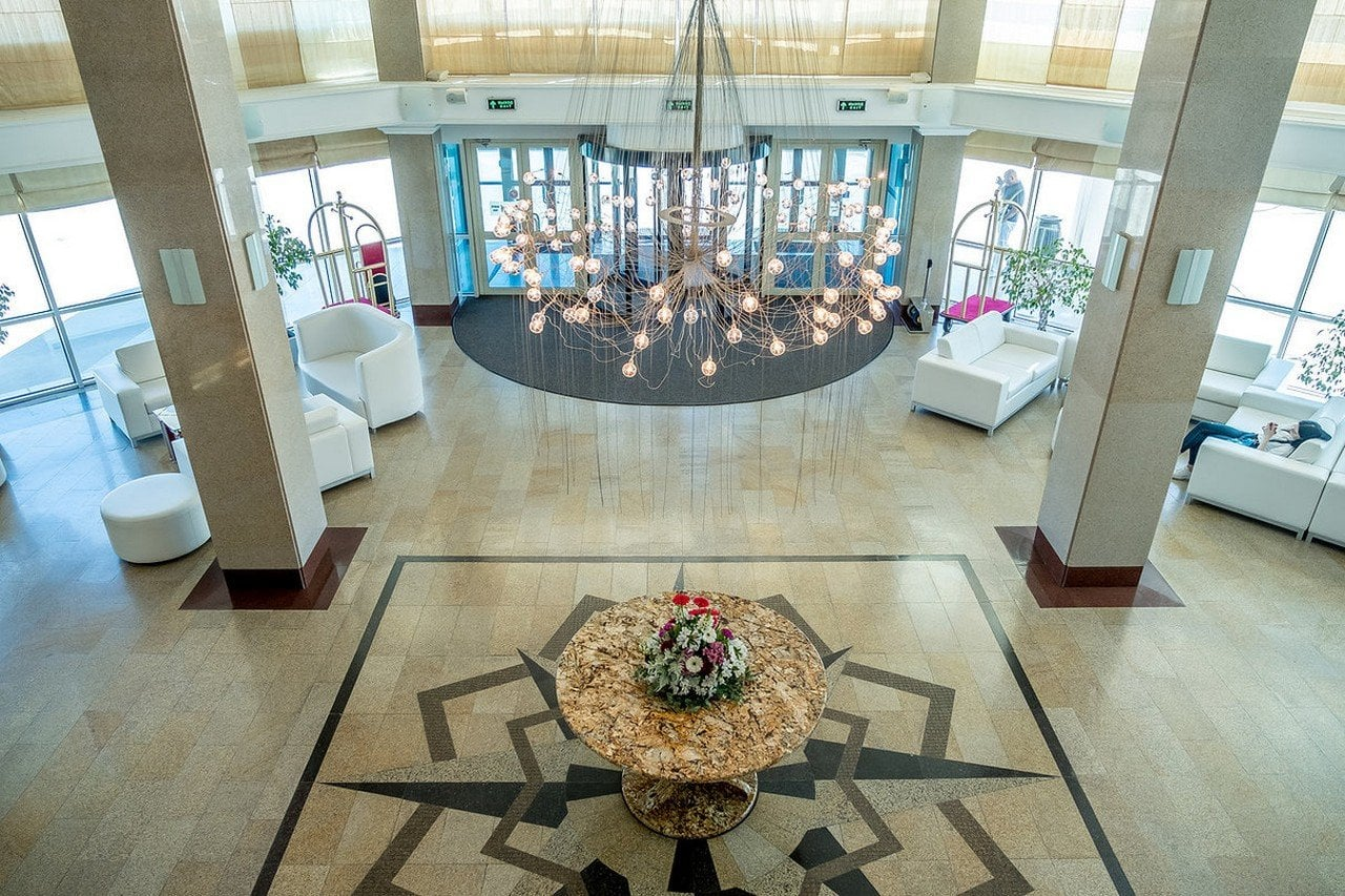Grand Hotel Astrakhan Lobby