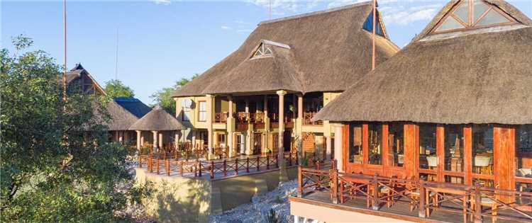 Epacha Game Lodge & Spa Lodgeansicht