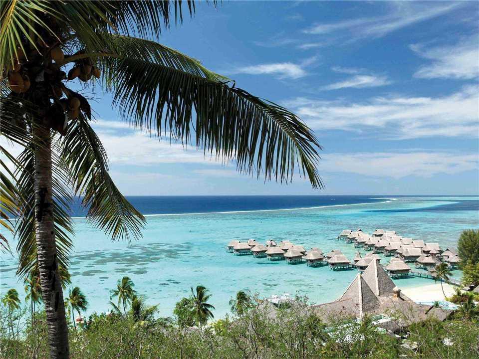 Sofitel Moorea Ia Ora Beach Resort Luftaufnahme