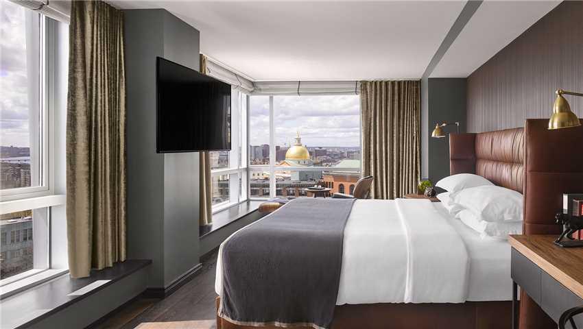 Nine Zero Hotel Doppelzimmer