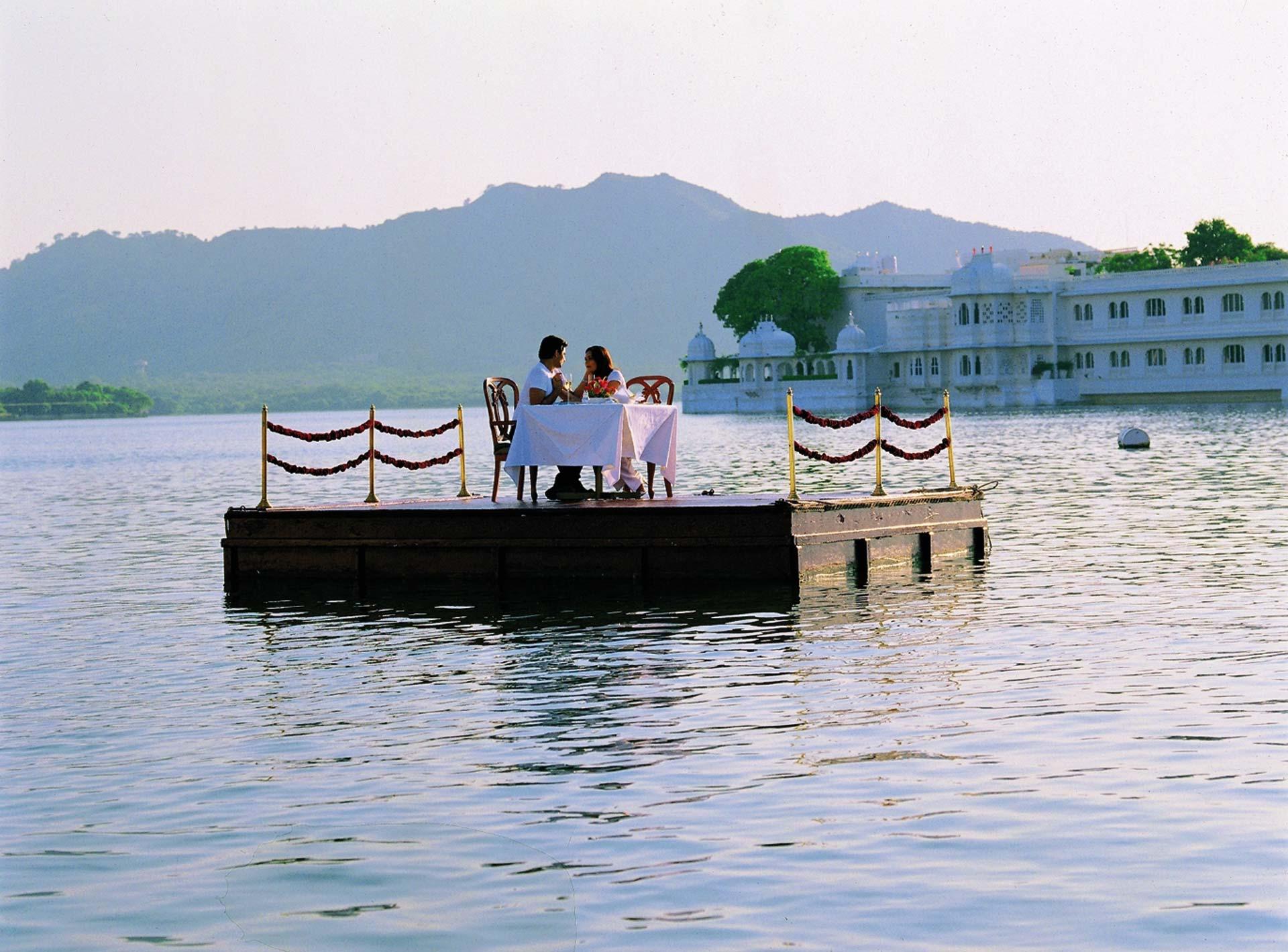 Taj Lake Palace romantisches Dinner