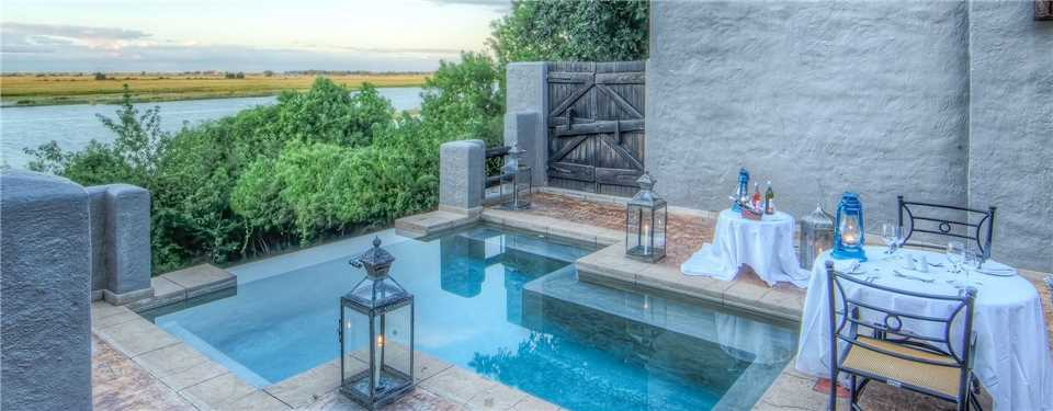Chobe Game Lodge Pool
