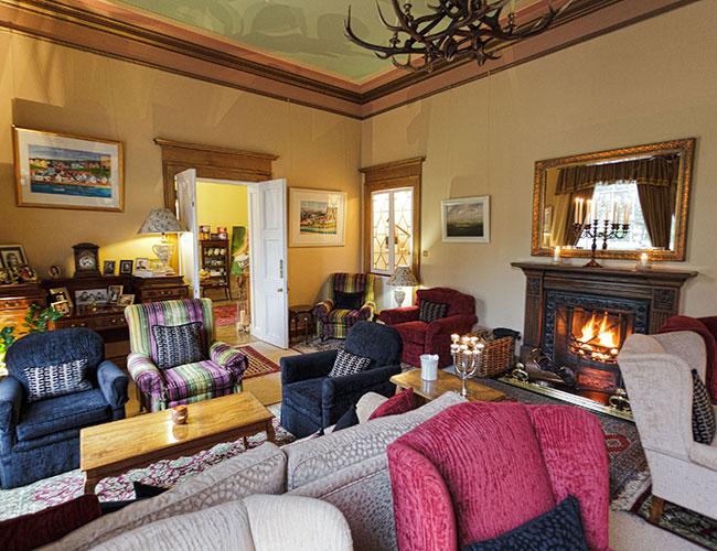Boath House Hotel Lounge