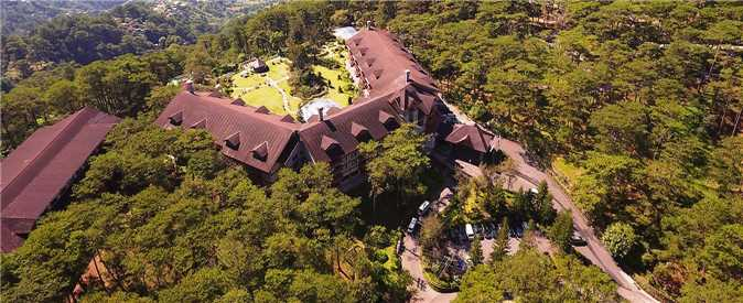The Manor at Camp John Hay Luftaufnahme