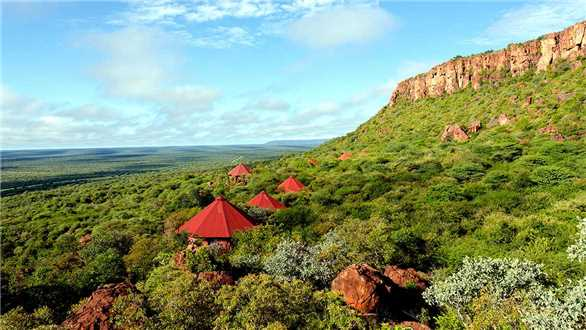 Waterberg Plateau Lodge Panoramablick