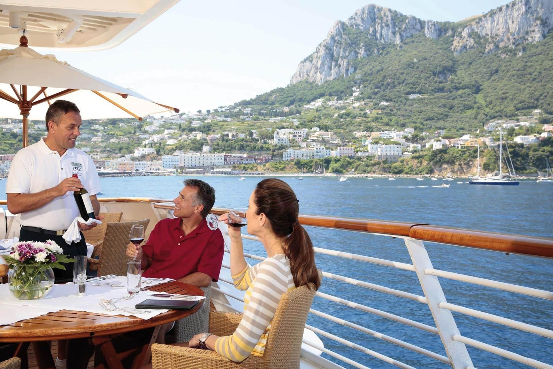 SeaDream II SeaDream Yacht Club Restaurant