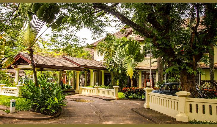 Settha Palace Hotel Außenansicht