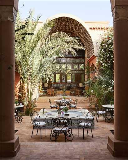 Al Moudira Hotel Terrasse