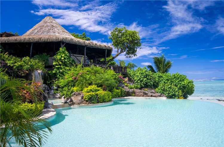 Pacific Resort Aitutaki Nui Pool