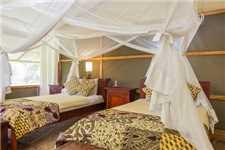 Ishasha Wilderness Camp Doppelzimmer