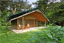 Ishasha Wilderness Camp Außenansicht