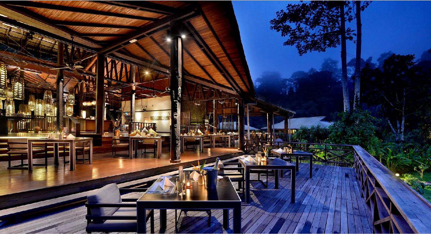 Borneo Rainforest Lodge Restaurant
